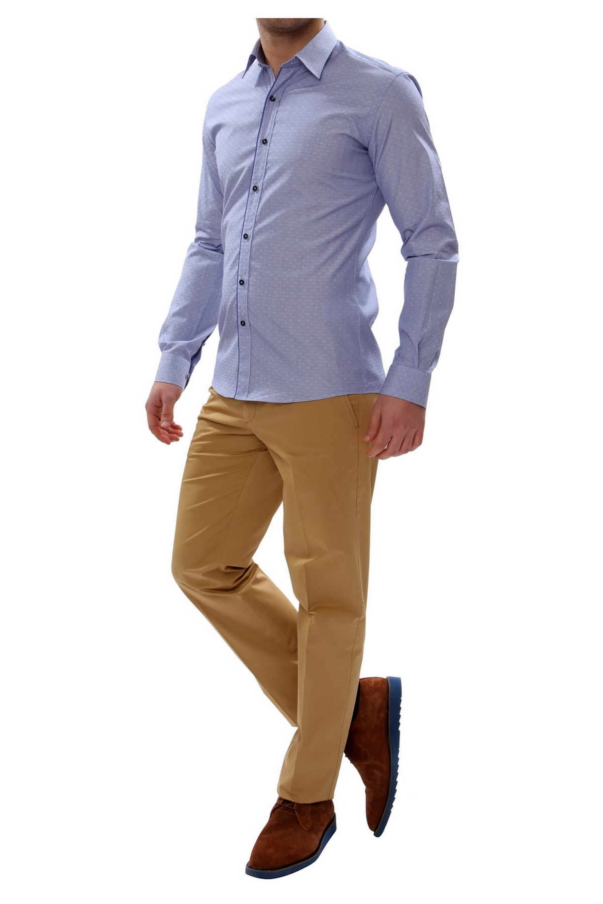 Efor P 905 Slim Fit Taba Spor Pantolon 1