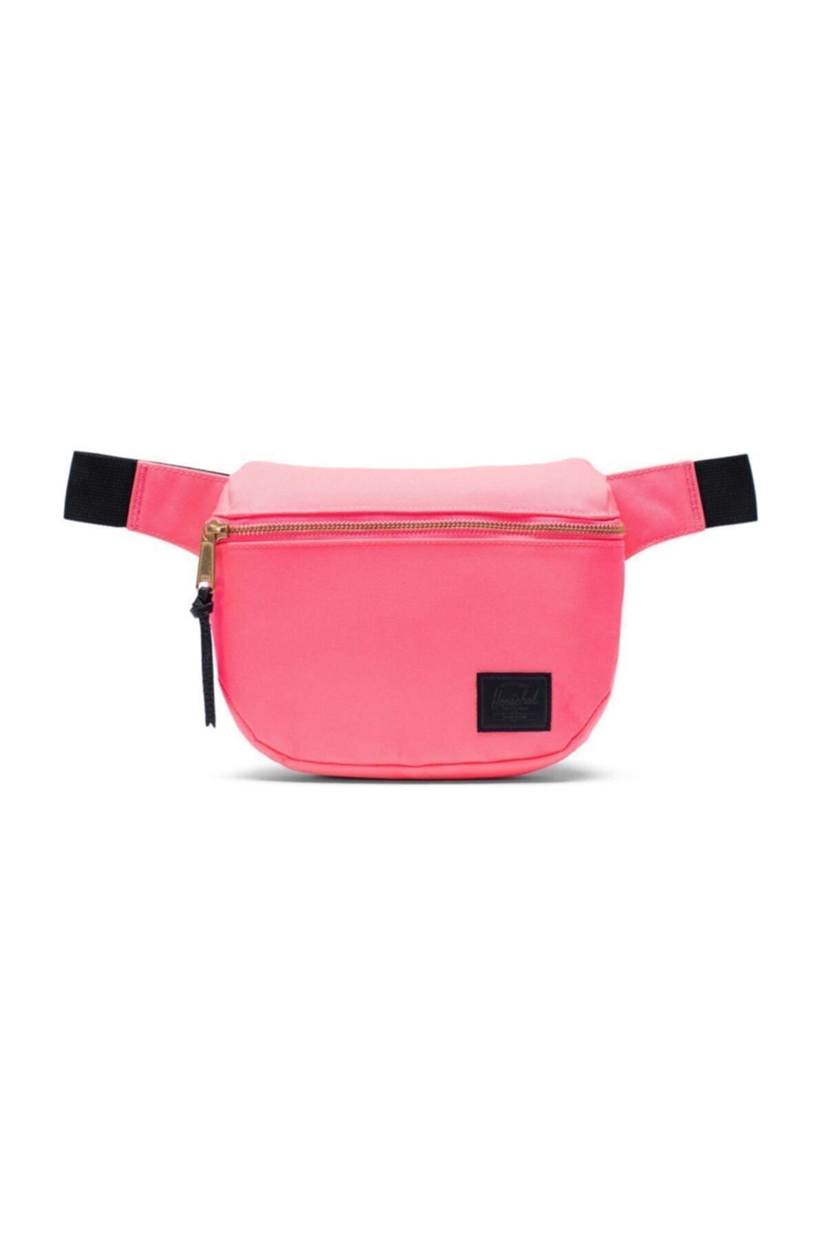 Herschel Supply Co. Herschel Bel Çantası Fifteen Neon Pink/black 1