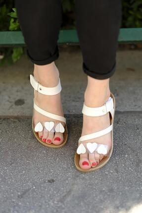 Oksit Lili Kalpli Kadın Sandalet