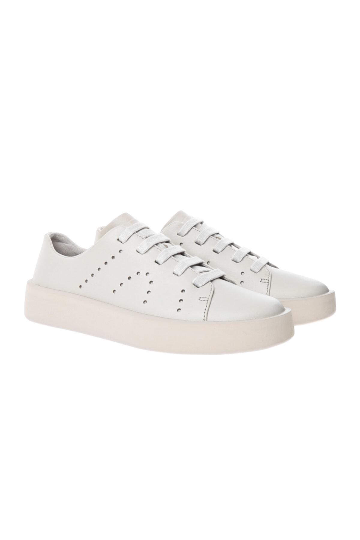 CAMPER Kadın Beyaz Sneaker K200945-001  Courb Beıge 2