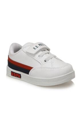 U.S. Polo Assn. Jamal 9pr Beyaz Erkek Çocuk Sneaker Ayakkabı