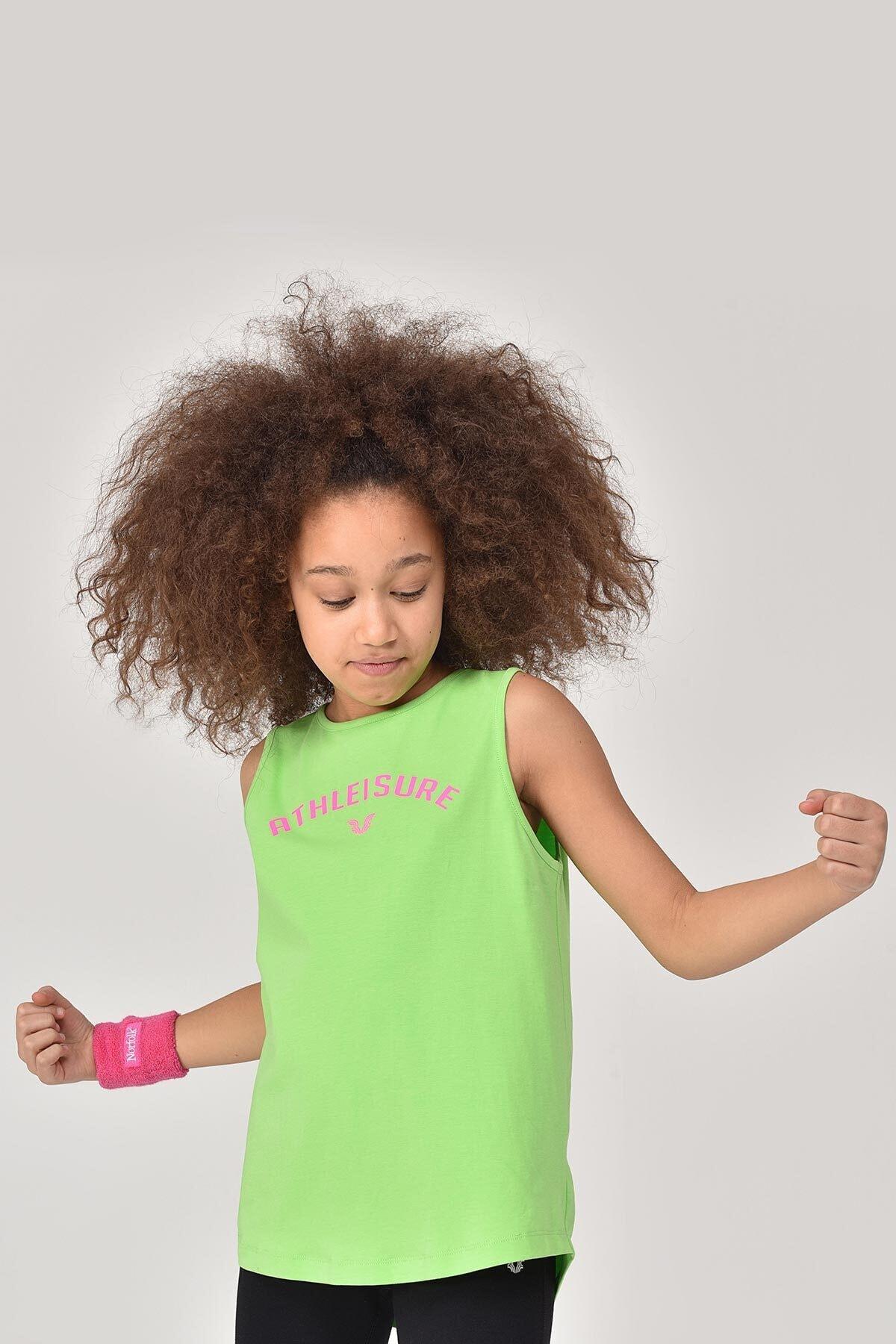bilcee A.yeşil Kız Çocuk Atlet Gs-8172 2