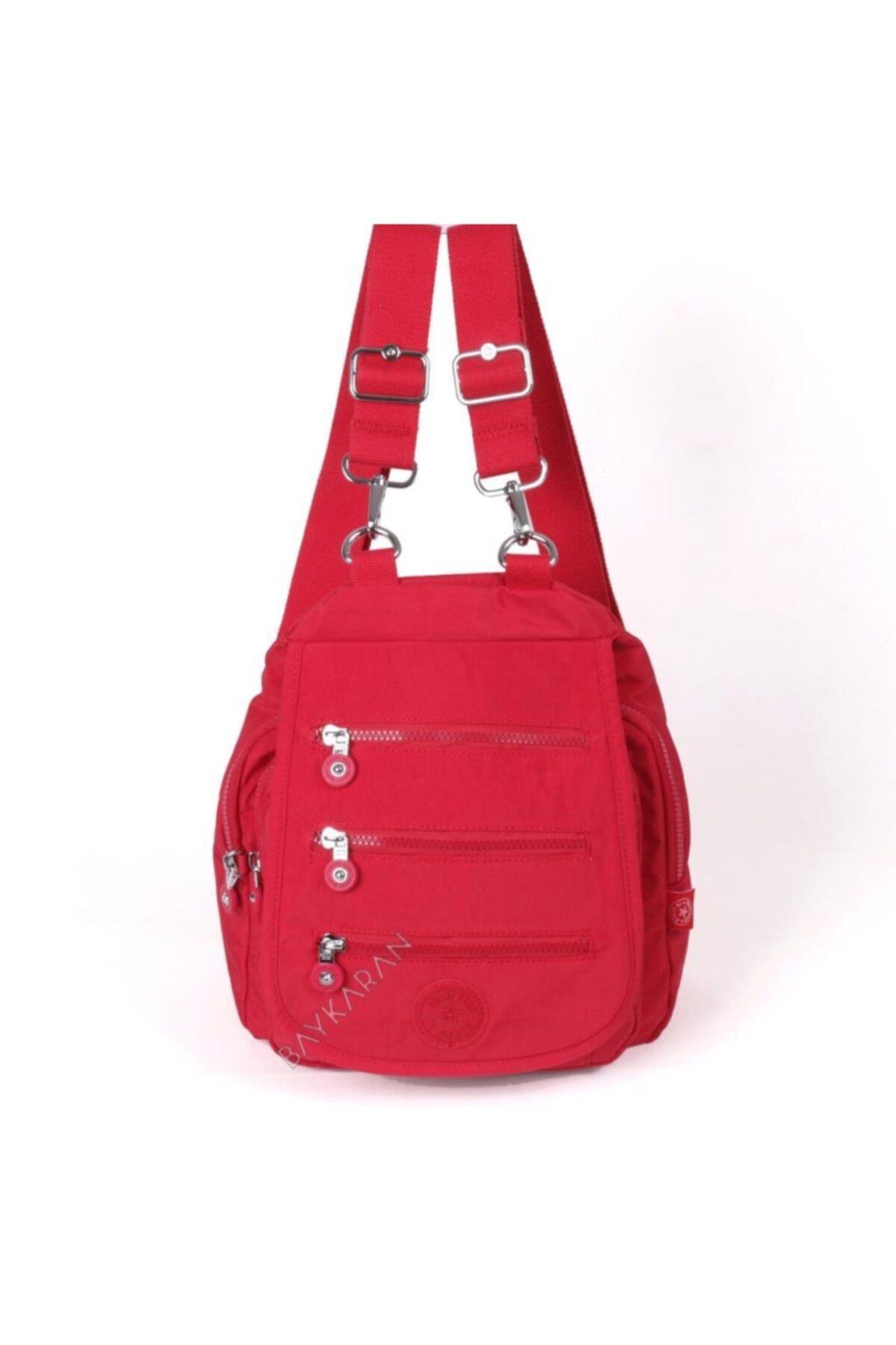 SMART BAGS Küçük Boy Kadın Sırt Çantası 1169 19 Kırmızı 2