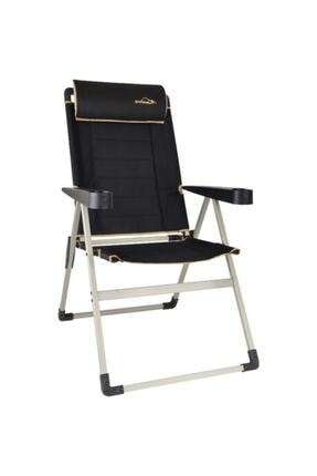 NURGAZ Campout Katlanır Lüx Sandalye Siyah