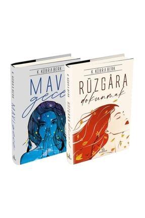 Ephesus Yayınları Rüzgara Dokunmak + Mavi Gece - K. Kübra Berk 2 Kitap Set - Ciltli