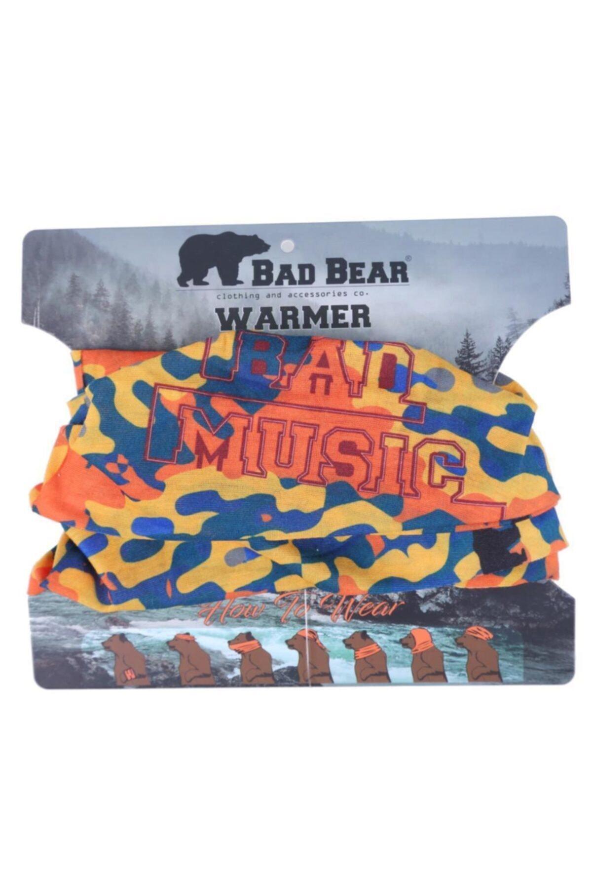 Bad Bear Baskılı Erkek Bandana 20.02.40.019 1