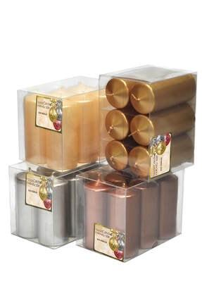 Horizon Mum Bar Mum - Altın Varaklı (3,5*8 Cm) Altın 123brmalt