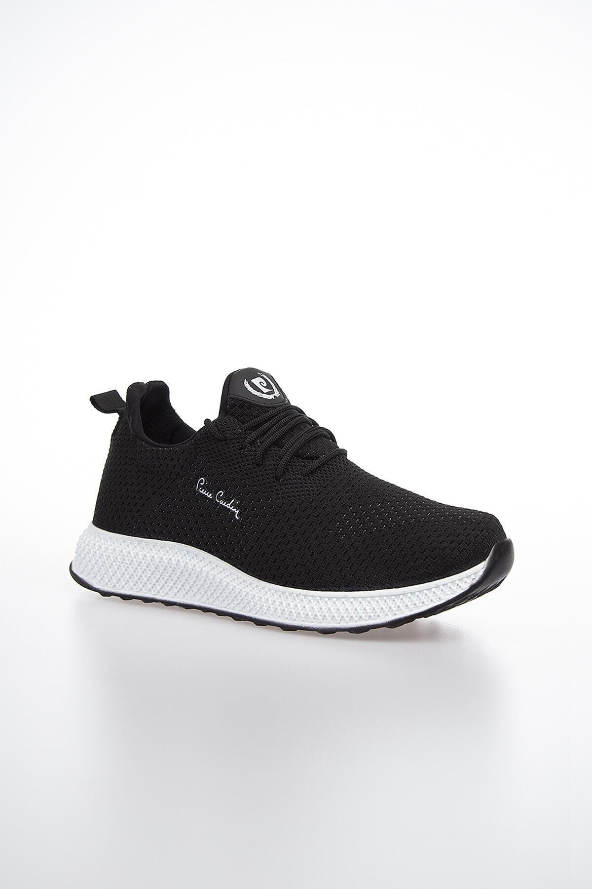 Pierre Cardin Erkek Günlük Spor Ayakkabı-Siyah-Beyaz PCS-10244 2
