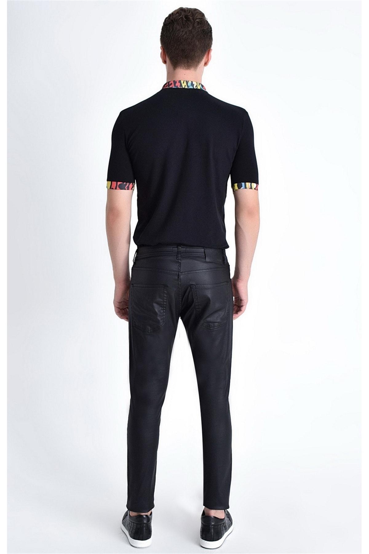 Efor 032 Slim Fit Siyah Jean Pantolon 2