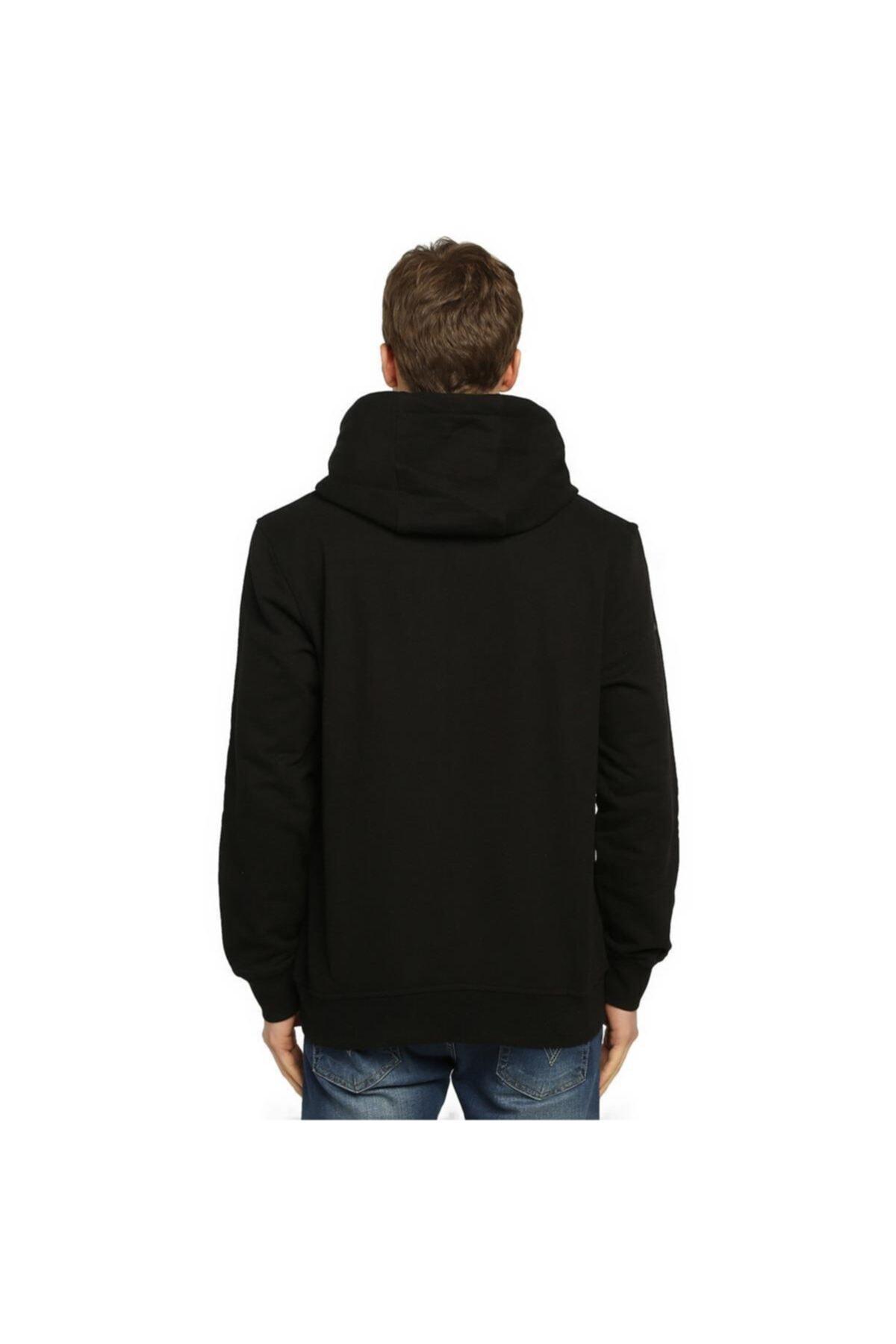 Bant Giyim - Gintama Siyah Kapüşonlu Sweatshirt 2