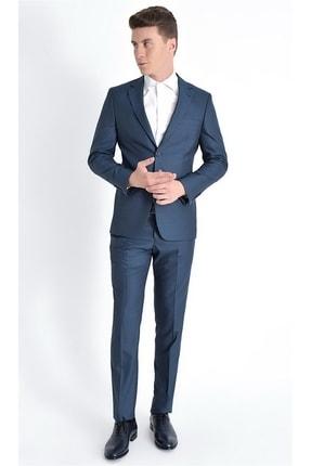 Efor Tk 775 Slim Fit Petrol Klasik Takım Elbise