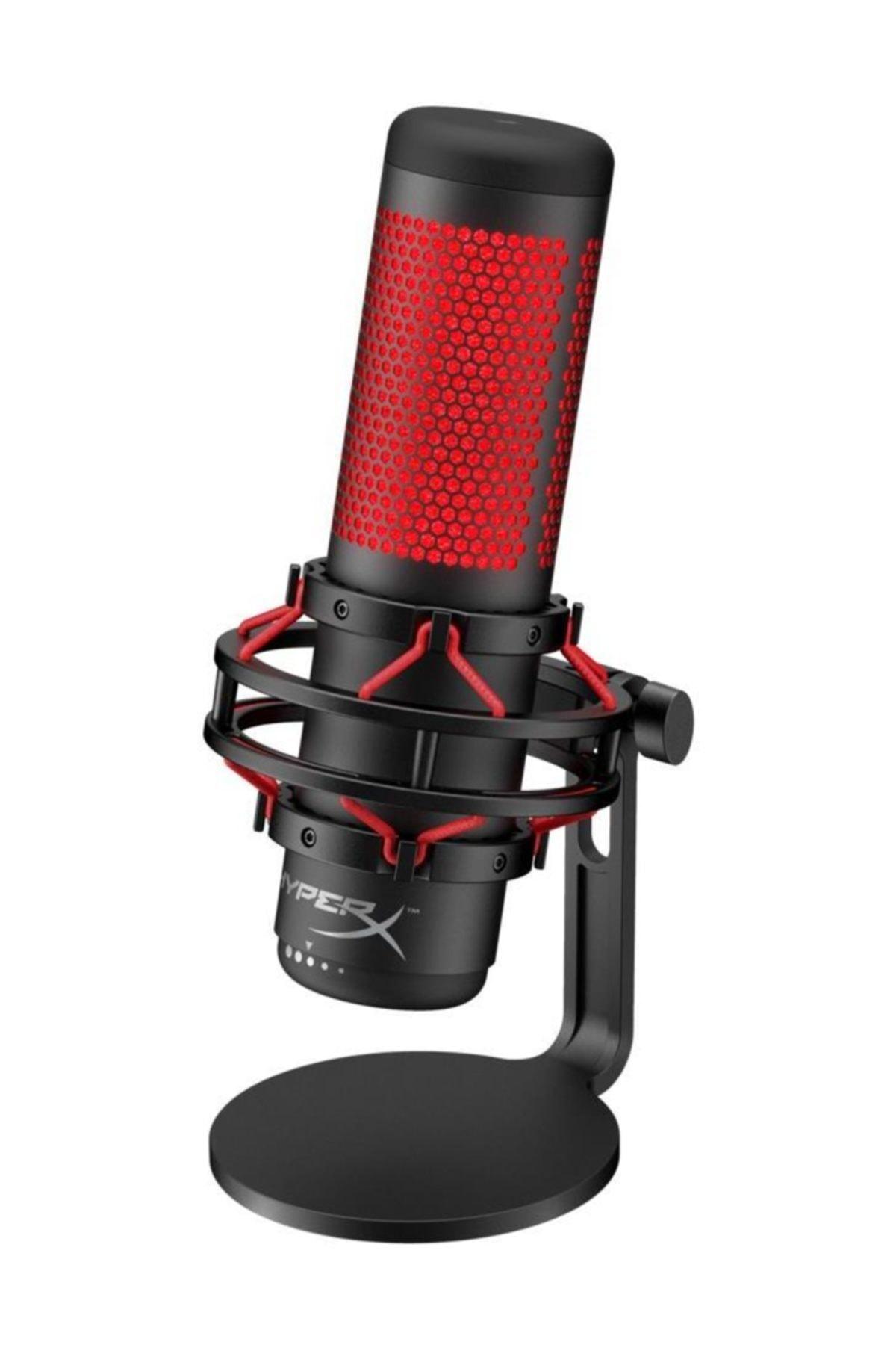 HyperX Quadcast Oyuncu Mikrofonu - Kırmızı 1