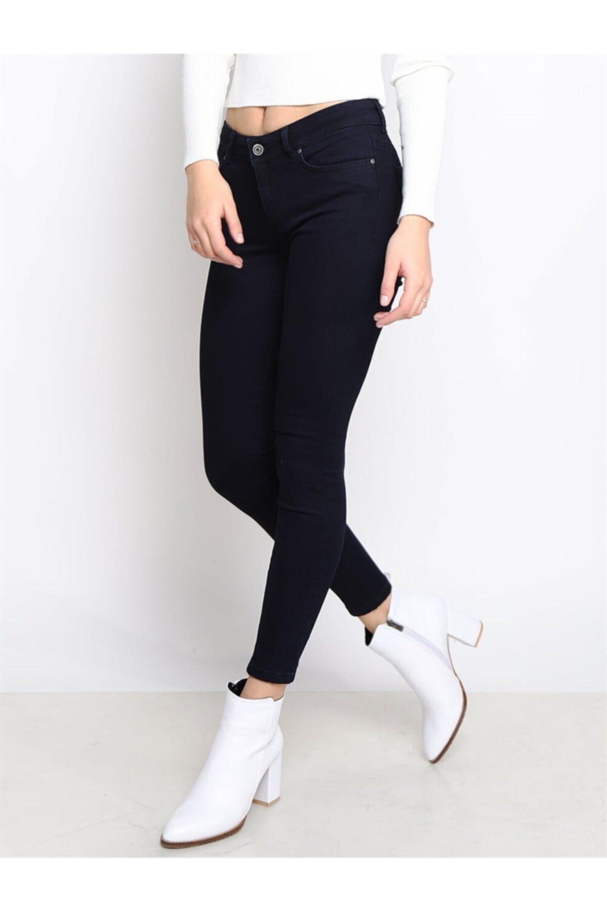 Twister Jeans Kadın Slim Fit Orta Bel Pantolon Lıma 9046-35 35 2