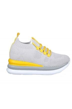 MP Ewoll 1037 Gri Kadın Sneakers