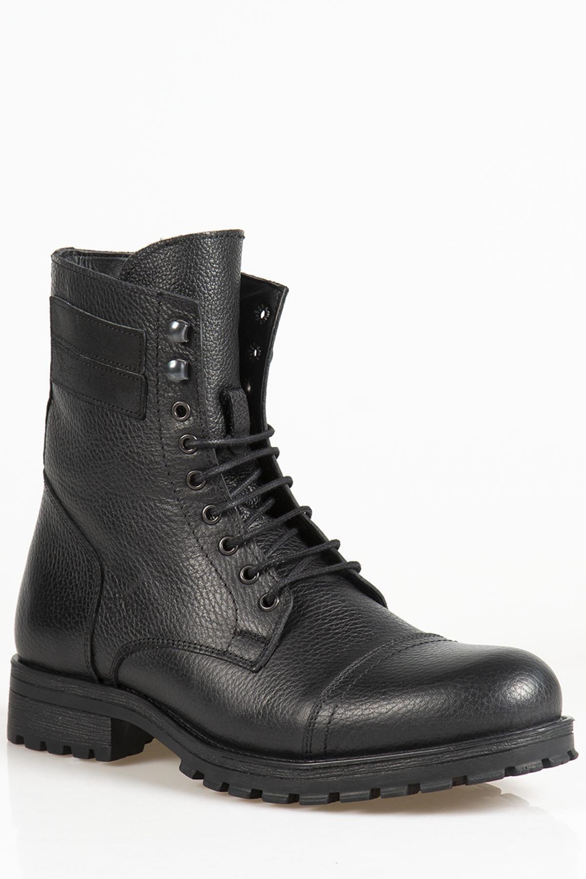 Ayakkabı Çarşı Kahverengi Askeri Kürklü Erkek Bot Bt118 1