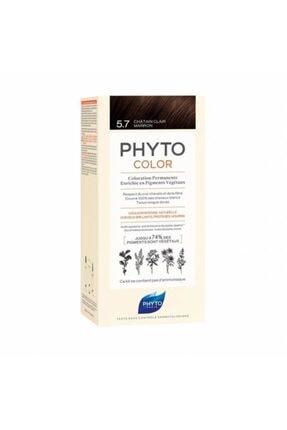 Voonka Color 5.7 - Açık Kestane Bakır (Bitkisel Saç Boyası) -