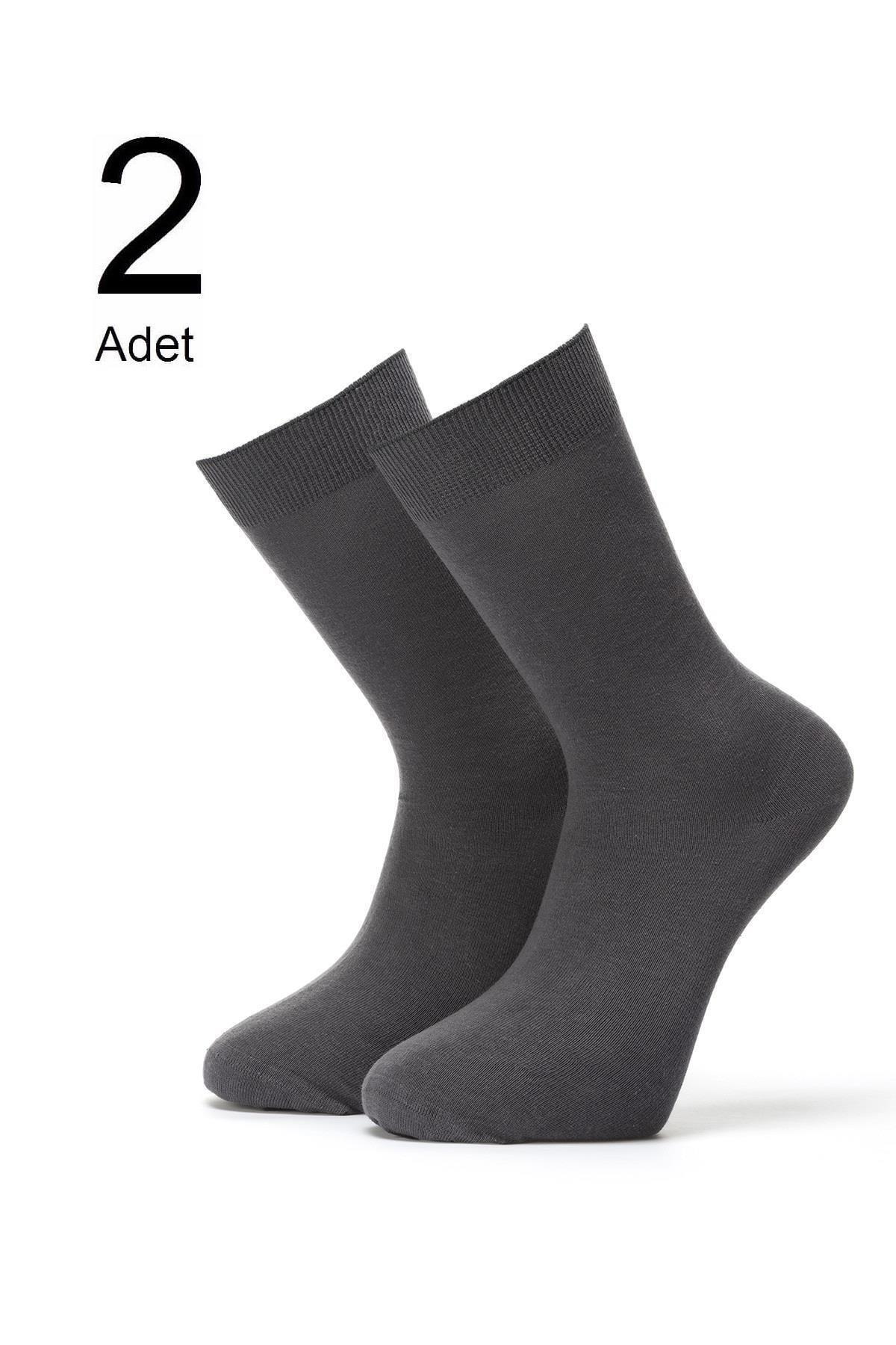ORBİS 2'li Erkek Parfümlü Düz Çorap 4452-a2 1
