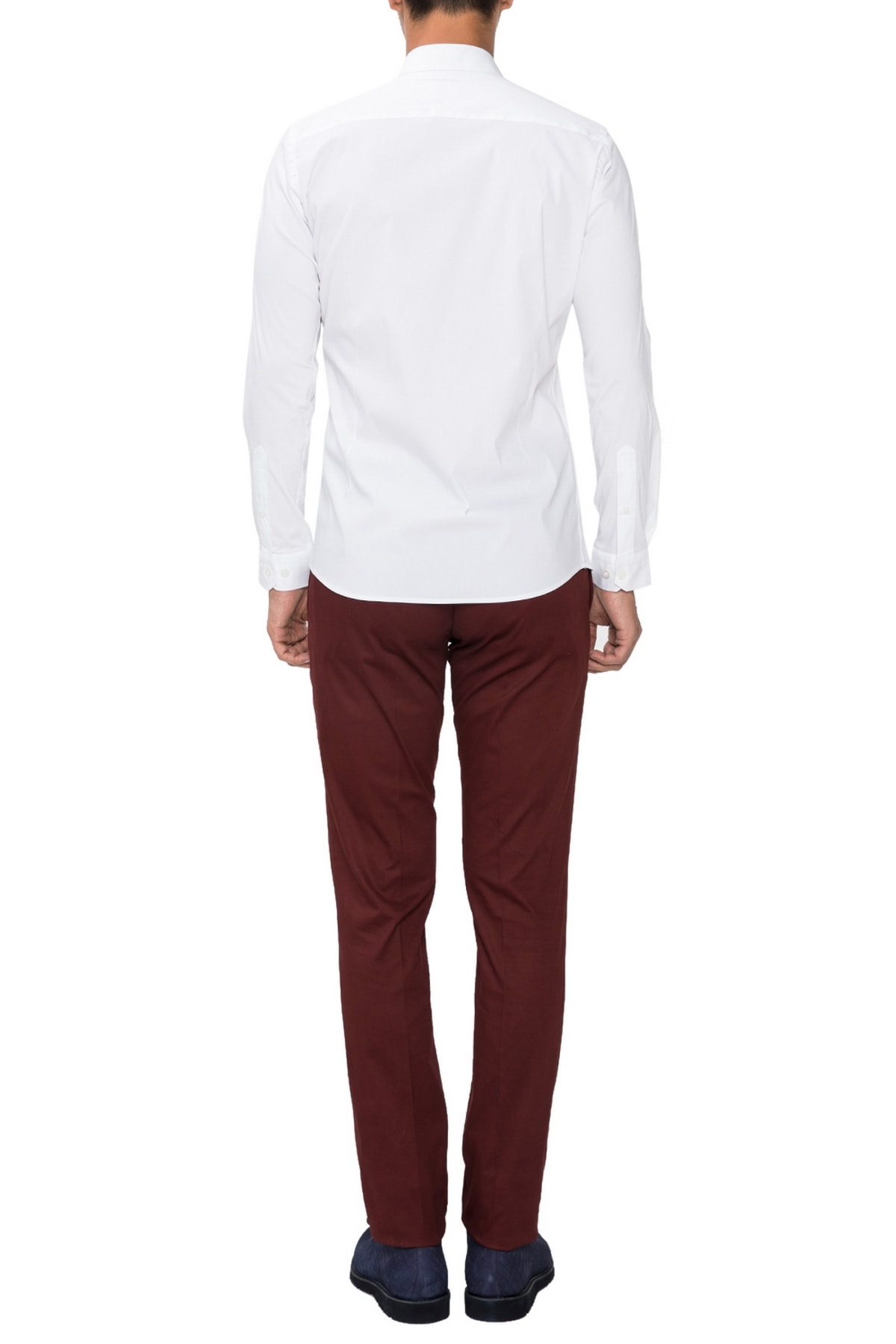 Efor P 1021 Slim Fit Bordo Spor Pantolon 2