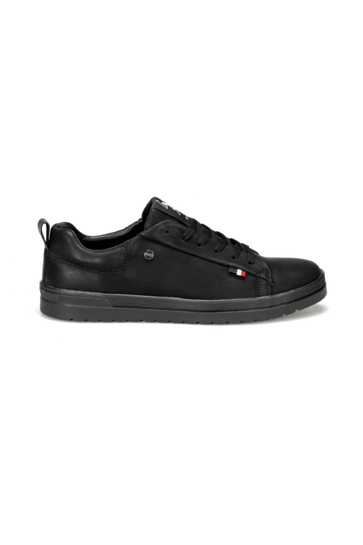 U.S. Polo Assn. NOEL 9PR Siyah Erkek Kalın Taban Sneaker Spor Ayakkabı 100420455 1