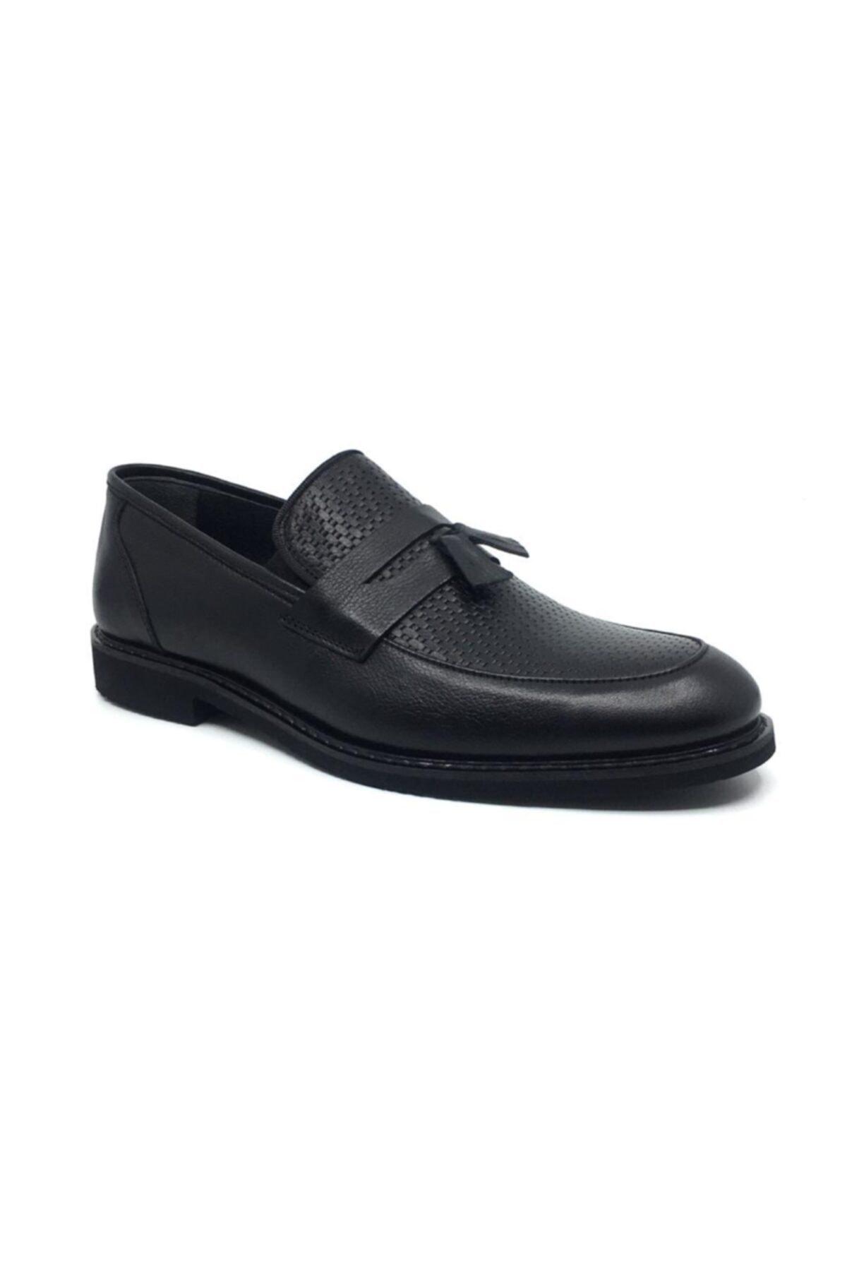 Taşpınar Üçlü %100 Deri Erkek Klasik Corcik Yazlık Rahat Ayakkabı 40-44 1