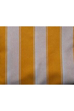 Ataylar Balkon Perdesi En.500x220 Cm Kullanıma Hazır Üstü Korniş Düğmeli Alt Ve Yanlar Bağcıklı