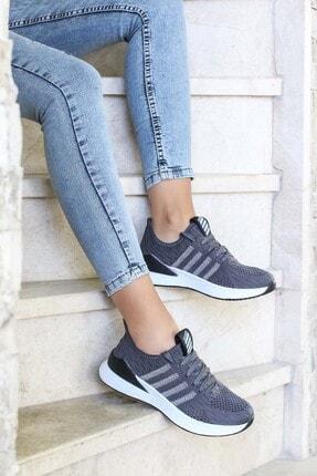 FAST STEP Füme Kadın Sneaker Ayakkabı 925za038