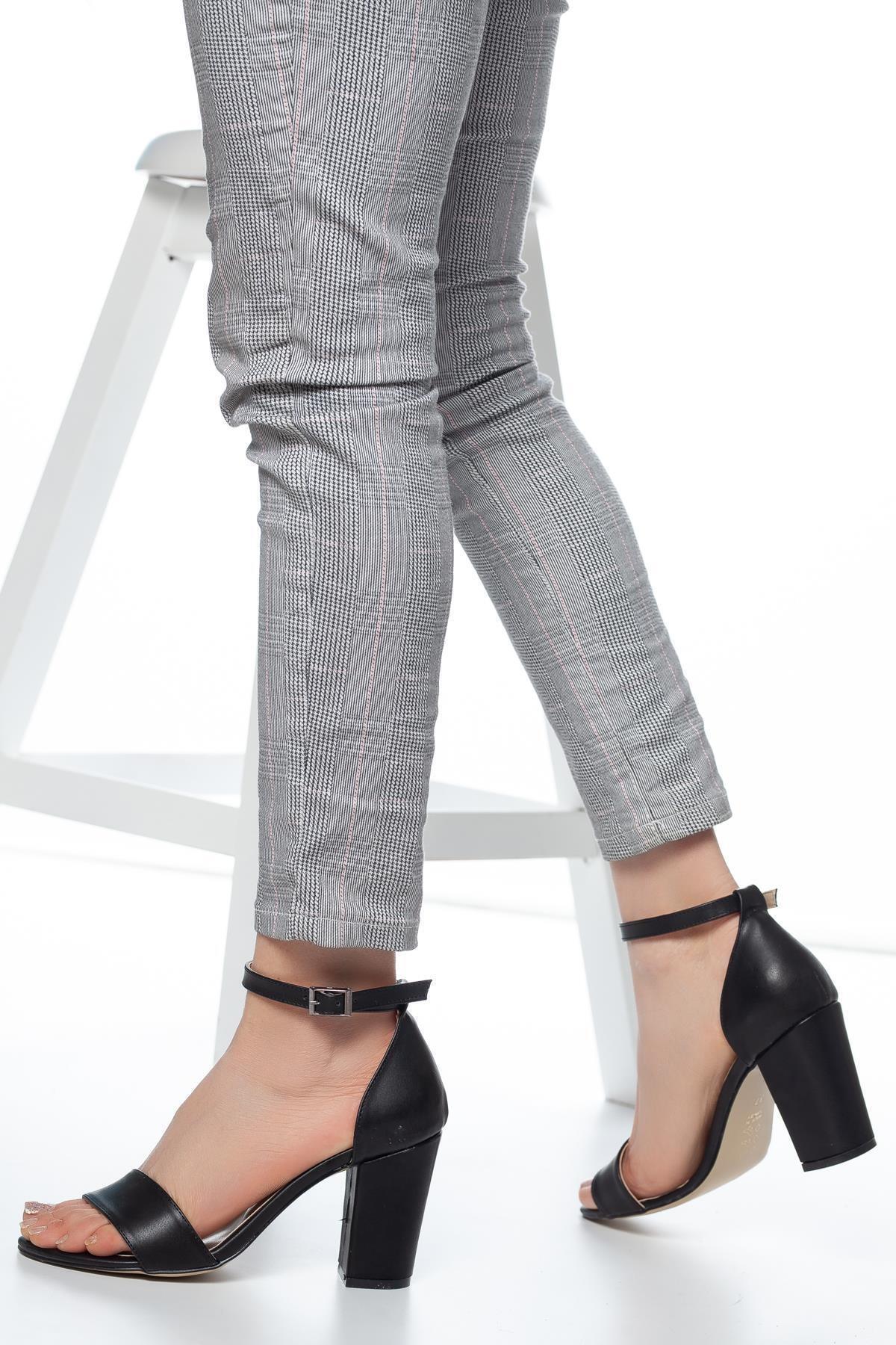 MUGGO W710 Kadın Topuklu Ayakkabı 2