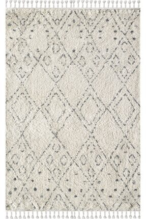 Viviana Home Chicago Serisi Kregri Cream/grey Chicago Collection
