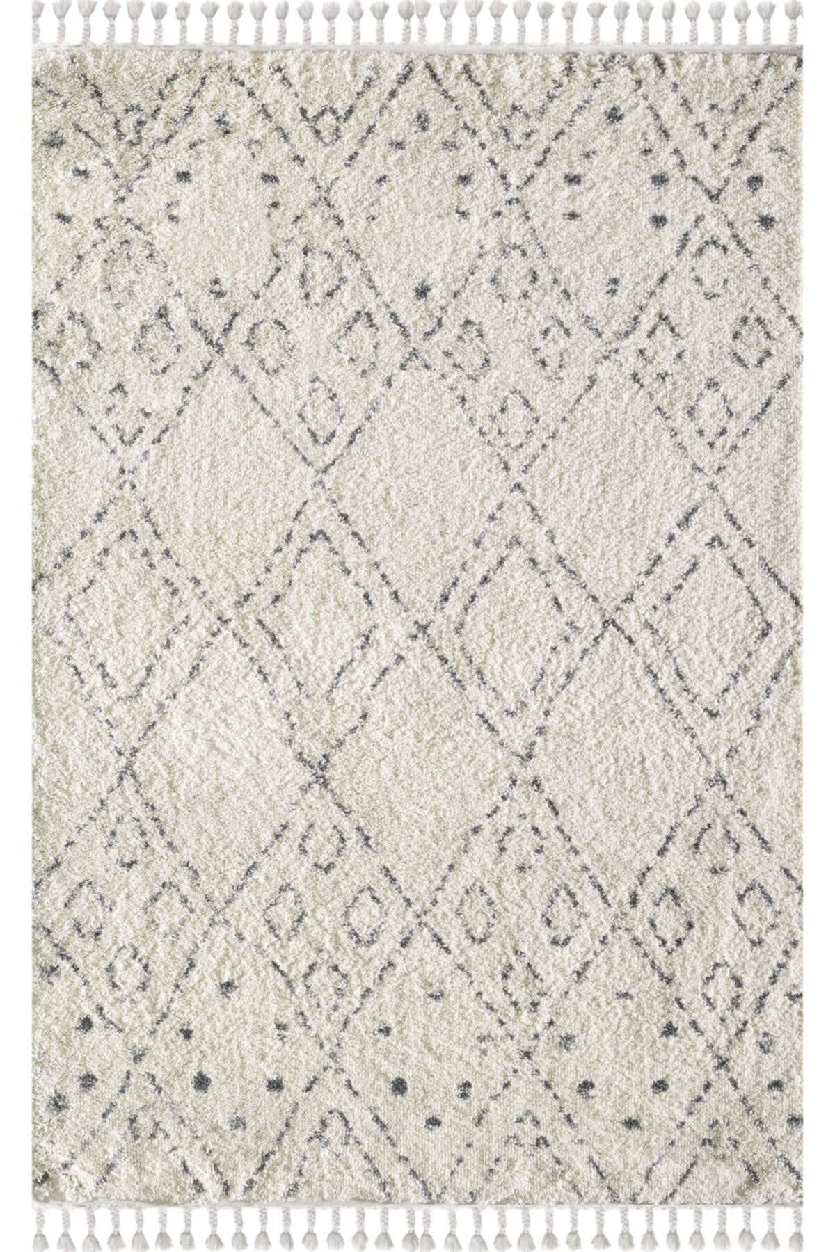 Viviana Home Chicago Serisi Kregri Cream/grey Chicago Collection 1