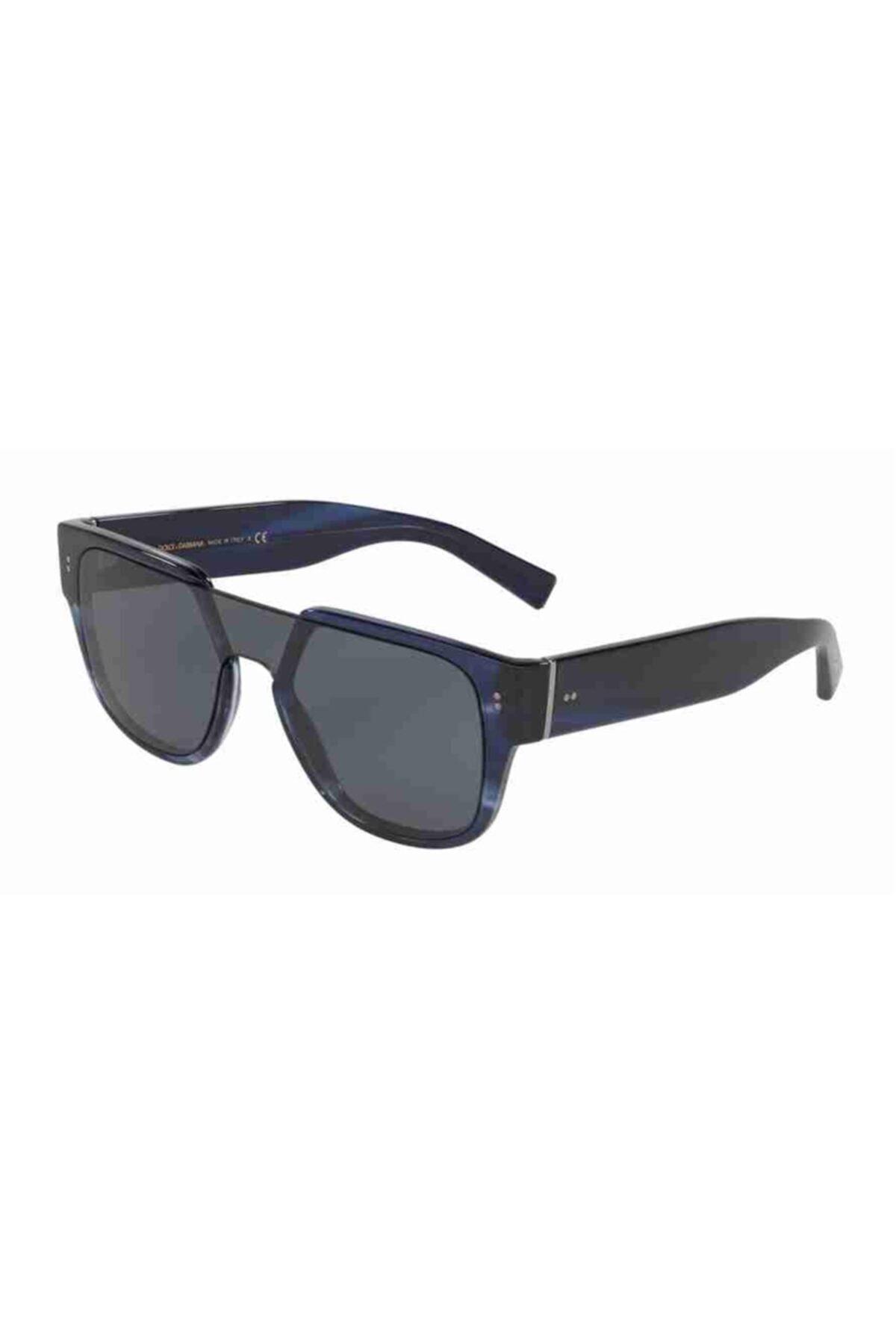 Dolce & Gabbana 4356 318880 22 Ekartman Unisex Güneş Gözlüğü 1