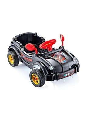 Güçlü Plastik Güçlü Pedallı Porshe Araba 4 Tekerli Çocuk Bisikleti 84 X 48 Cm