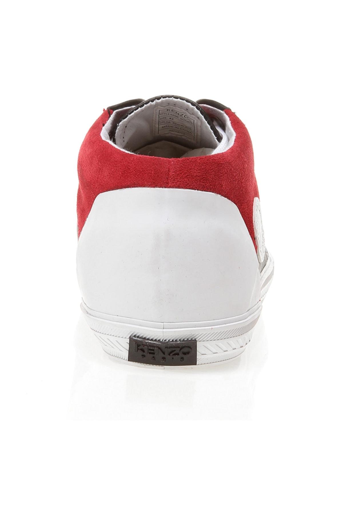 Kenzo Kırmızı Erkek Sneaker M42177 Duarte 2