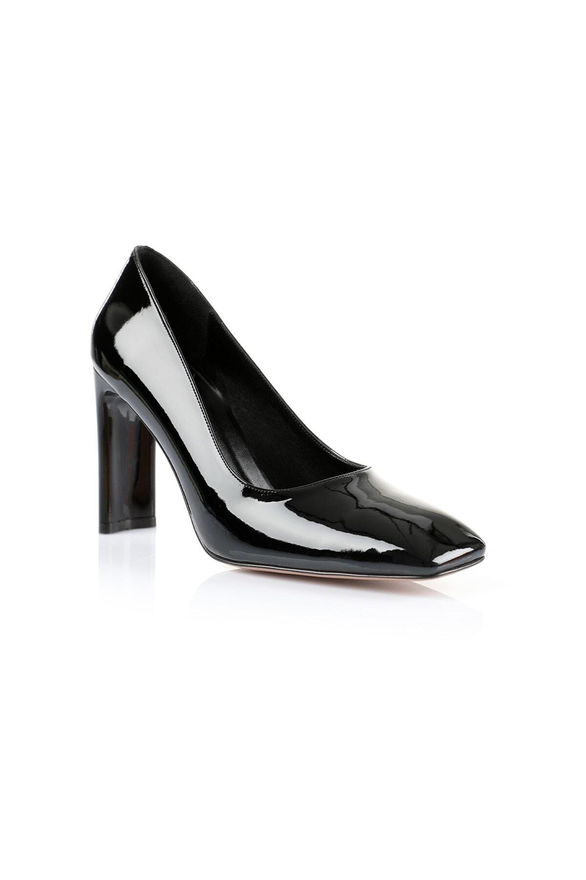 Oblavion Petra Siyah Topuklu Ayakkabı 2