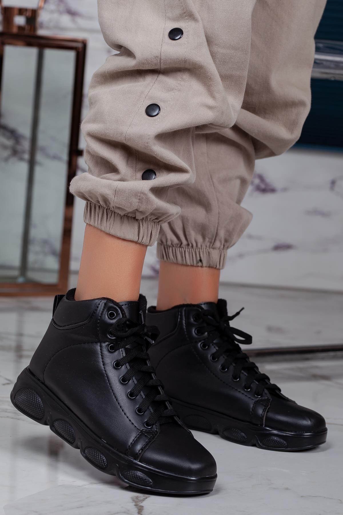 MUGGO Svt14 Kadın Sneaker Ayakkabı 2
