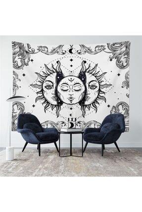 Trendiz Sun Beyaz Duvar Halısı W20004