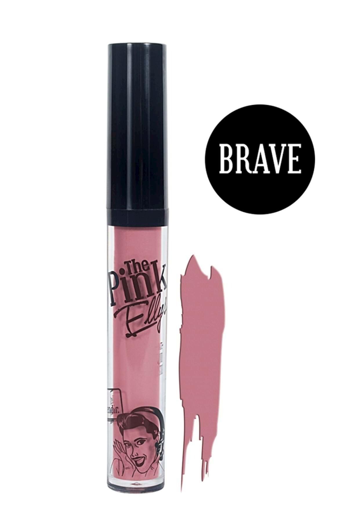 The Pink Ellys Likit Kalıcı Mat Ruj - Liquid Matte Lipstick Brave 5 ml 1