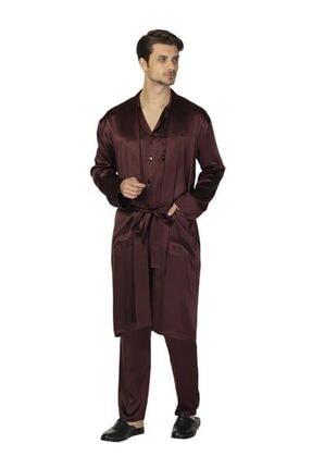 D'S Damat Ipek Pijama Sabahlık Takımı