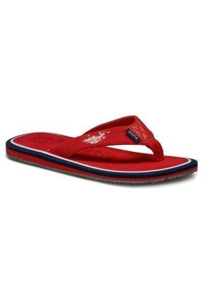 U.S. Polo Assn. VITUS Kırmızı Erkek Terlik 100250330