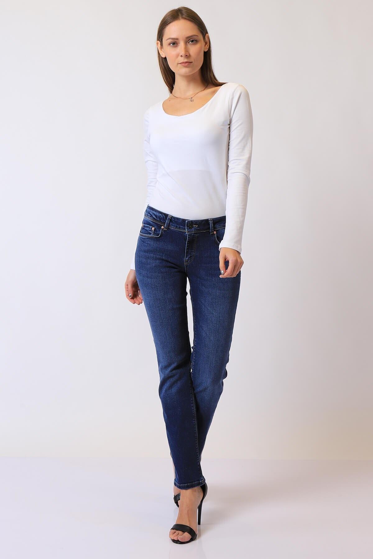 Twister Jeans Kadın Slim Fit Düşük Bel Pantolon Suzy 9001-24 (T) 24 1