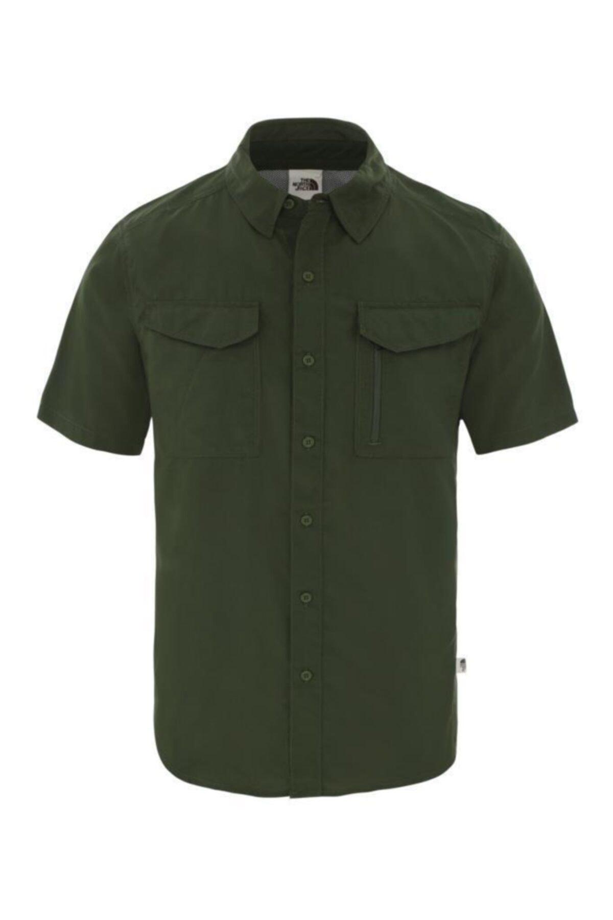 THE NORTH FACE S/s Sequoıa Kısa Kollu Erkek Gömlek Yeşil 1