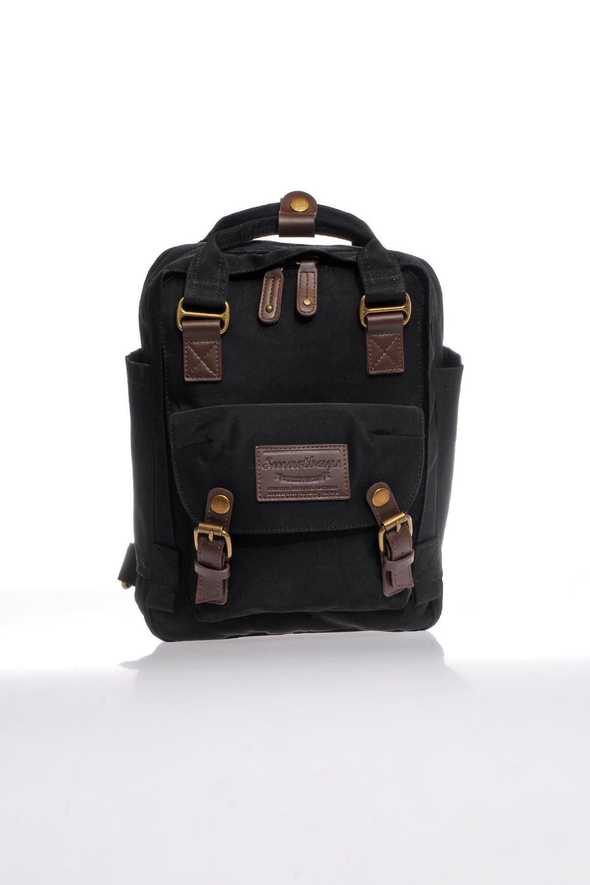 SMART BAGS Smb6008-0001 Siyah Kadın Sırt Çantası 1