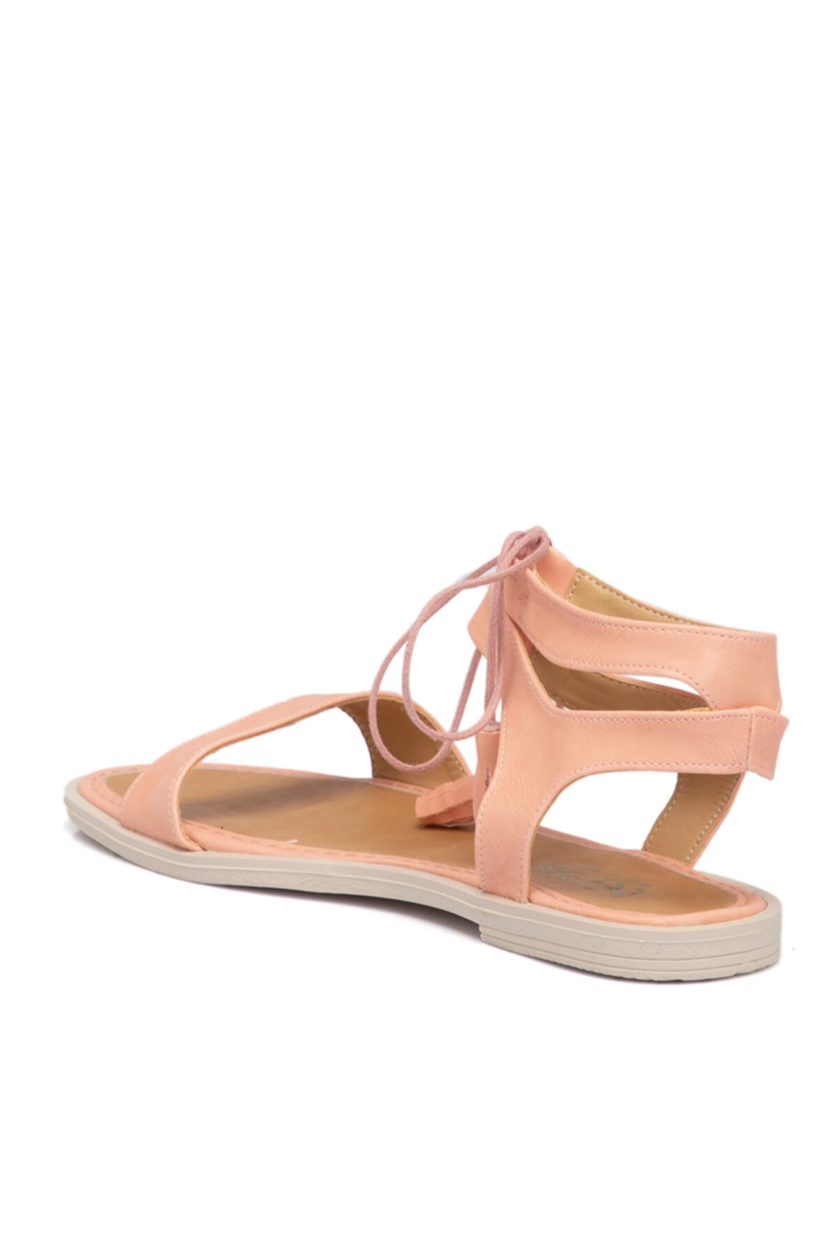Tergan Pembe Vegan Kadın Sandalet 210138q2q 2