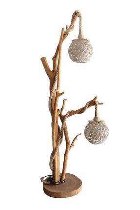 WOODBOOK Sarkıtlı Doğal Ağaç Lambader