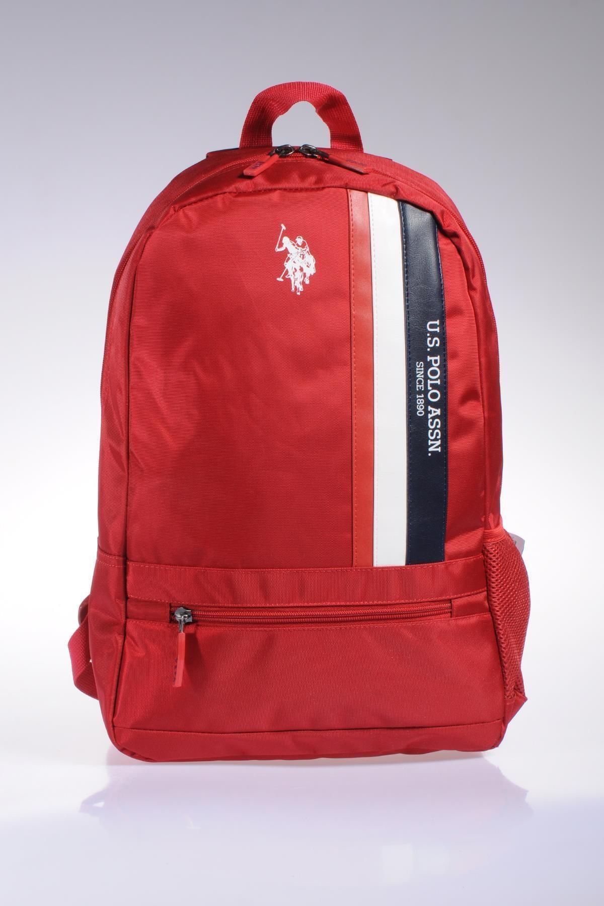 U.S. Polo Assn. Plçan9327 Kırmızı Kadın Sırt Çantası 1