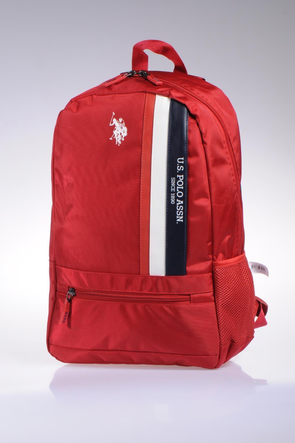 U.S. Polo Assn. Plçan9327 Kırmızı Kadın Sırt Çantası 2