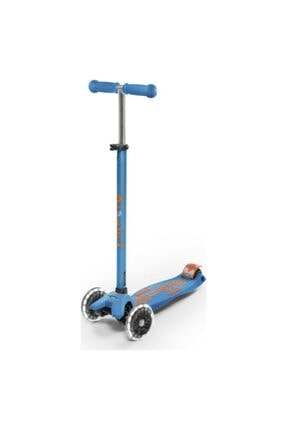 Micro Maxi Deluxe Caribbean Blue Led Mmd085 Scooter