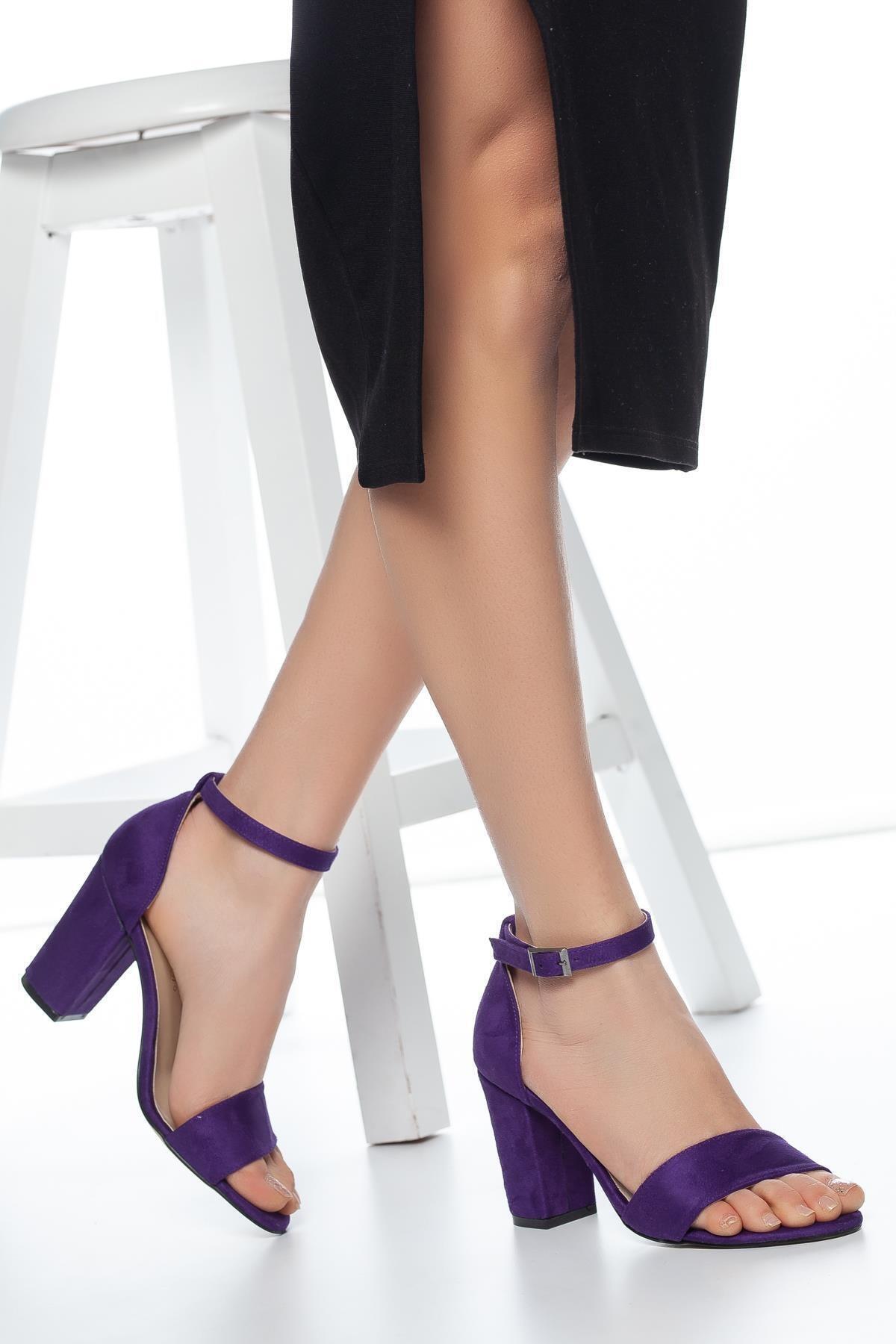 MUGGO W710 Kadın Topuklu Ayakkabı 1