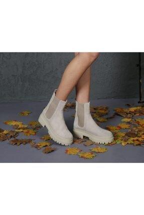 CassidoShoes Özel Tasarım Hakiki Süet Deri Yanları Lastikli Rahat Giyim Eva Taban Bot