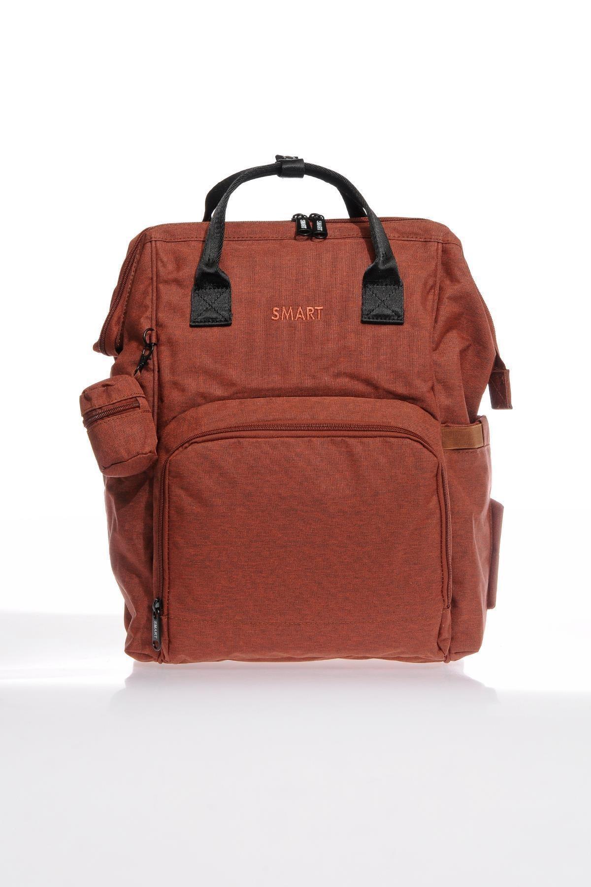 SMART BAGS Smb2007-0019 Kırmızı Kadın Bebek Bakım Sırt Çantası 1