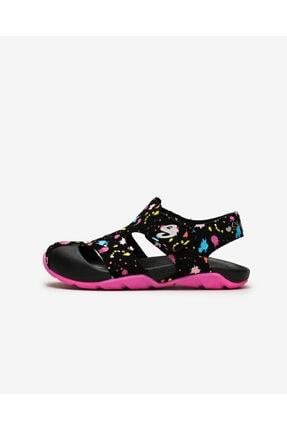 SKECHERS SIDE WAVE - Büyük Kız Çocuk Siyah Sandalet